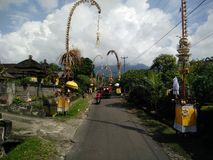 Schönes Bali Indonesien Stockfotografie