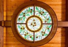 Schönes beflecktes Fenster Stockfotografie