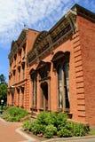 Schönes Beispiel von Renaissance-Wiederbelebung im Canfield-Museum, Saratoga Springs, New York, 2014 Lizenzfreie Stockfotografie