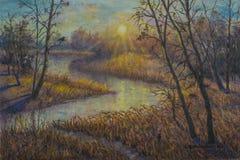 Schönes Bild der Landschaft ist für die Hintergrundanzeige passend Lizenzfreies Stockfoto