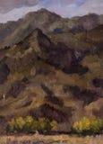 Schönes Bild der Landschaft ist für die Hintergrundanzeige passend Stockbild