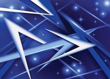 Schönes Blau des abstrakten Hintergrundes Stockfotos