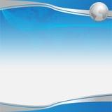 Schönes blaues Geschäft des Hintergrundhintergrundes Lizenzfreie Stockbilder