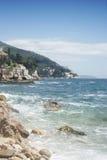 Adriatische Küste 2 Stockfoto