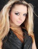 Schönes blondes Stockfoto