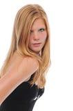 Schönes blondes Stockbilder