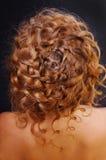 Schönes blondes Haar Stockfotografie