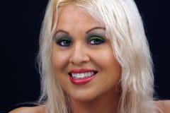 Schönes blondes Headshot (2) Stockfoto