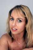 Schönes blondes Headshot (4) Stockbild