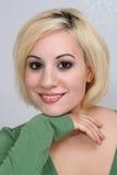 Schönes blondes Headshot (7) Lizenzfreie Stockfotografie