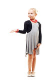 Schönes blondes kleines Mädchen Lizenzfreie Stockbilder