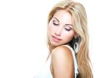 Schönes blondes Mädchen Lizenzfreie Stockfotos