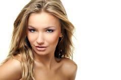 Schönes blondes Portrait Lizenzfreie Stockfotografie