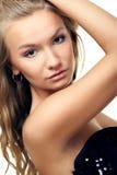 Schönes blondes Portrait Lizenzfreie Stockbilder