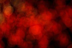 Schönes bokeh des Kerzenlichtes Stockfoto