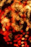 Schönes bokeh des Kerzenlichtes Stockfotografie