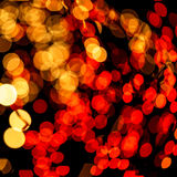 Schönes bokeh des Kerzenlichtes Lizenzfreie Stockbilder