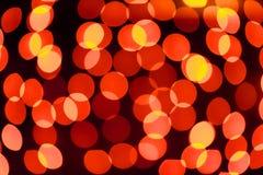 Schönes bokeh des Kerzenlichtes Lizenzfreies Stockfoto