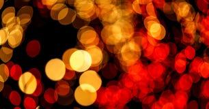 Schönes bokeh des Kerzenlichtes Stockbilder