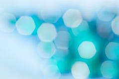 Schönes bokeh von unscharfen Lichtern lizenzfreies stockfoto