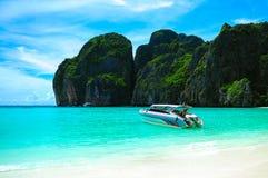 Schönes Boot am krabi Lizenzfreies Stockfoto