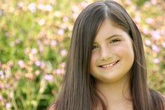 Schönes Brunette-Mädchen Stockbilder