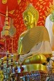 Schönes Buddha-Bild im Tempel Lizenzfreie Stockfotos