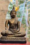 Schönes Buddha-Bild in Tempel Khao Takiab an moun Khao Takiab Lizenzfreie Stockfotos
