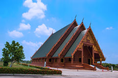 Buddha-Gebäude Stockbild