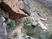 Schönes buntes Gebirgs-Kordilleren-De los Frailes in Bolivien Stockfoto