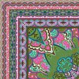 Schönes buntes Textildruck-Schaldesign Lizenzfreie Stockbilder