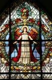 Schönes Buntglasfenster Stockbilder
