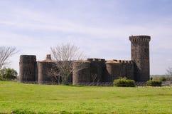 Schönes castel in Toskana, Italien - August 2016 Stockfoto