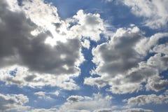 Schönes cloudscape Stockfoto