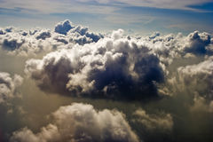 Schönes cloudscape Stockbilder