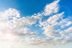 Schönes cloudscape Stockfotografie