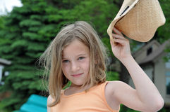 Schönes Cowgirl 2 Stockfotos