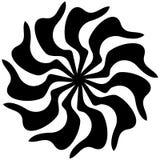 Schönes Deco Mandala Vector Kreismuster in der Form der Mandala vektor abbildung