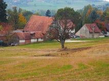 Schönes Dorf Lizenzfreies Stockfoto