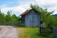 Schönes Dorfhaus Stockfotografie