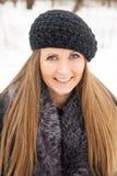 Schönes dunkles blondes behaartes Mädchen Lizenzfreie Stockbilder