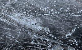 Schönes Eis Stockfoto