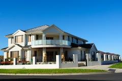 Schönes Entwerfer-Haus Stockbilder