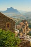Schönes europäisches oldtown Lizenzfreies Stockfoto