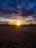 Schönes Feld stockfoto