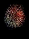 Schönes Feuerwerk Stockbild