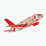 Schönes Flugzeug. Lizenzfreies Stockbild
