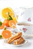 Schönes Frühstück. Stockfotografie