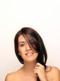 Schönes Frauen-Gesicht Stockfotos