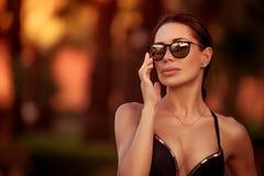 Schönes Frauenportrait Stockfotografie